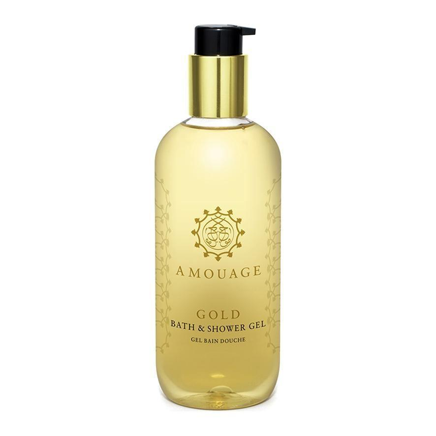 Gold Woman Shower Gel