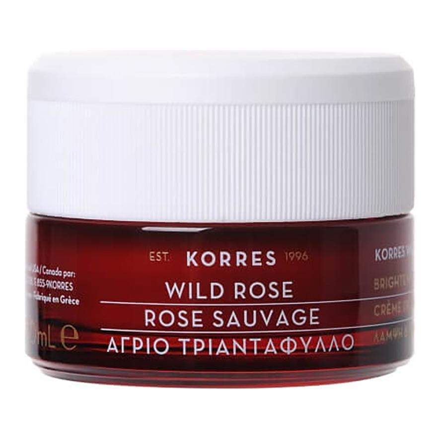 Wild Rose Brightening & First Wrinkles Day Cream - Dry Skin