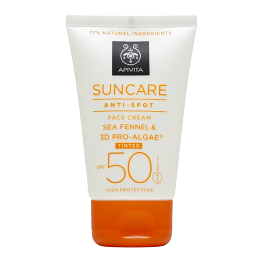 Anti-Spot Tinted Face Cream SPF 50 (High Protection) with Sea Fennel